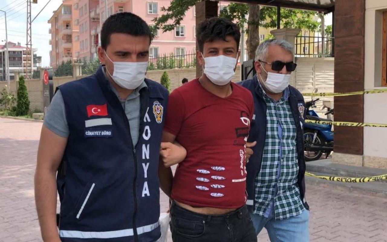 Konya'da öldürdüğü kişiyi karısıyla evde basmış! Katil koca 'içim rahatladı' dedi