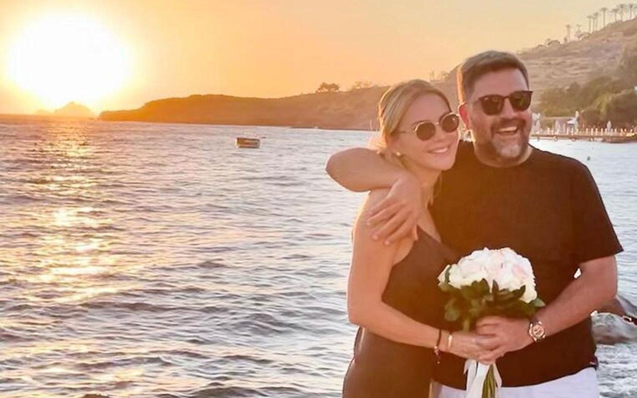 Ece Erken Şafak Mahmutyazıcıoğlu'yla evlendi! Müjdeyi verdi!