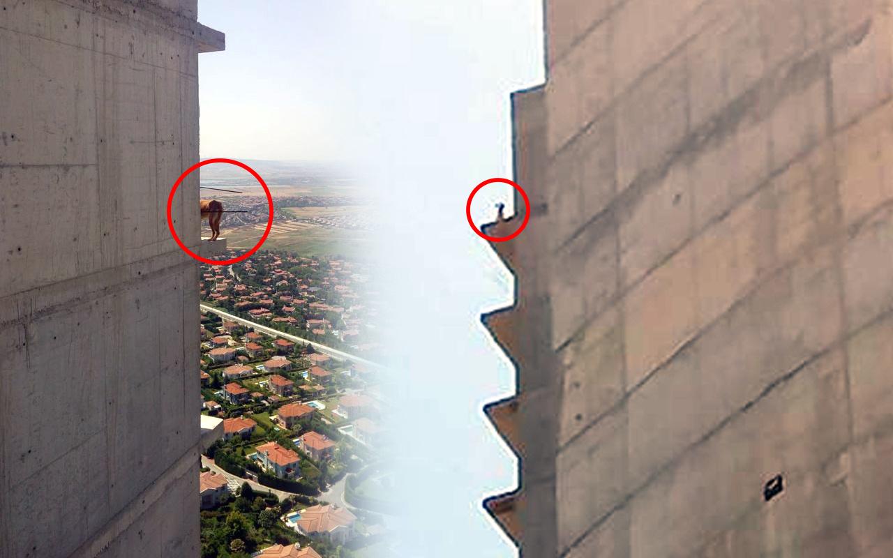 İstanbul'da 36. katta 10 gün bekledi! Gelen ekipler inanamadı