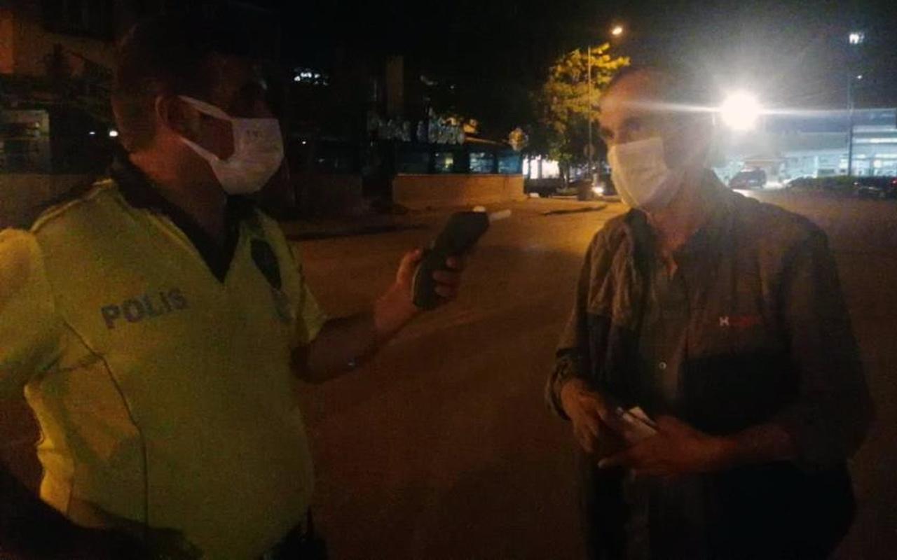 Bursa'da sürücü alkollü yakalandı bahanesi pes dedirtti! Polise güldüren tehdit