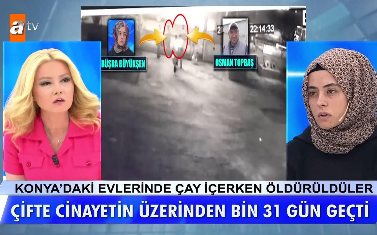 Müge Anlı ATV canlıda izletti! Büşra Büyükşen'in cinayet gecesi videosu