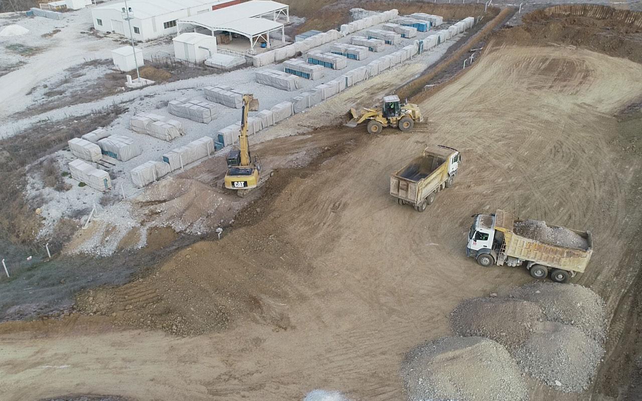 Bilecik'teki Söğüt Altın Madeni Projesi'nde hedef 2022 yılının sonunda ilk altını dökmek