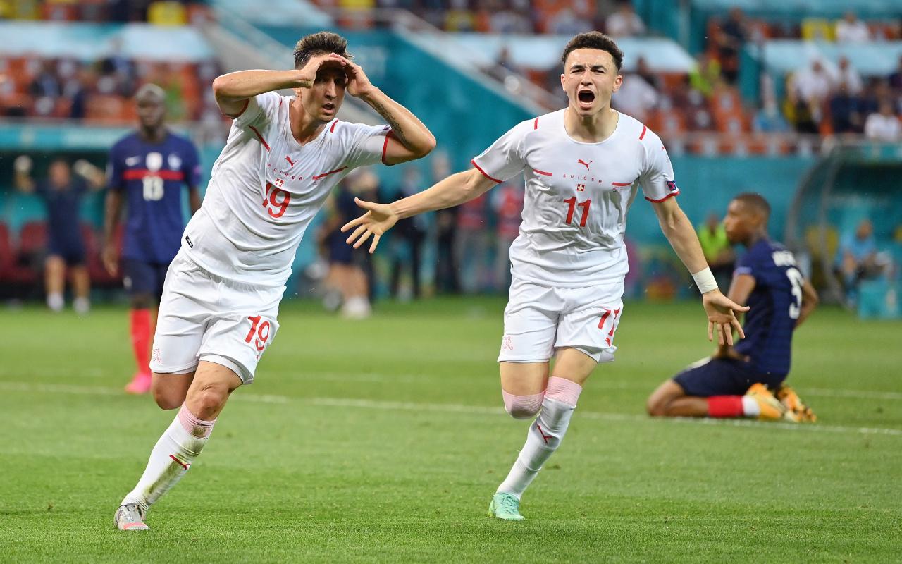 İsviçre son dünya şampiyonu Fransa'yı EURO 2020'den eledi