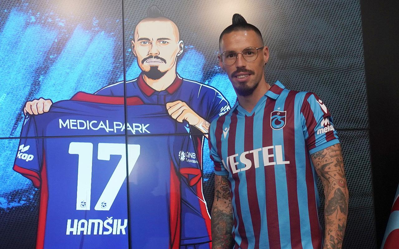 Marek Hamsik Trabzonspor ile 2 yıllık sözleşme imzaladı