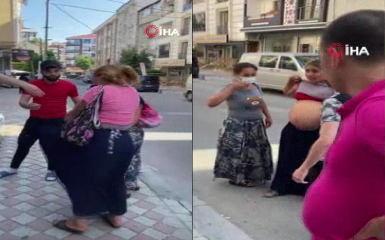 İstanbul'da geri isteyince yaşandı! Sokak ortasında soyunmaya kalkıştı