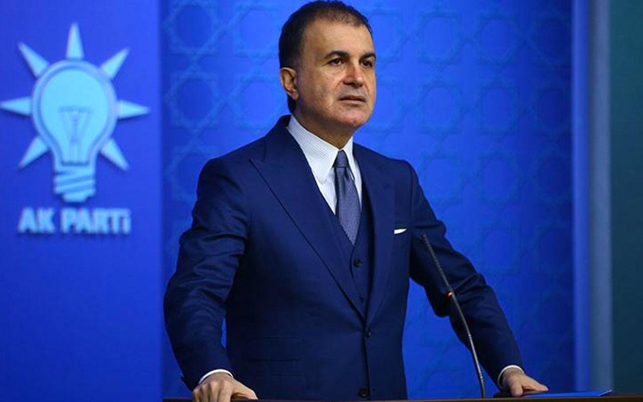 AK Parti Sözcüsü Ömer Çelik: Faillerin en ağır cezayı almaları temennimizdir