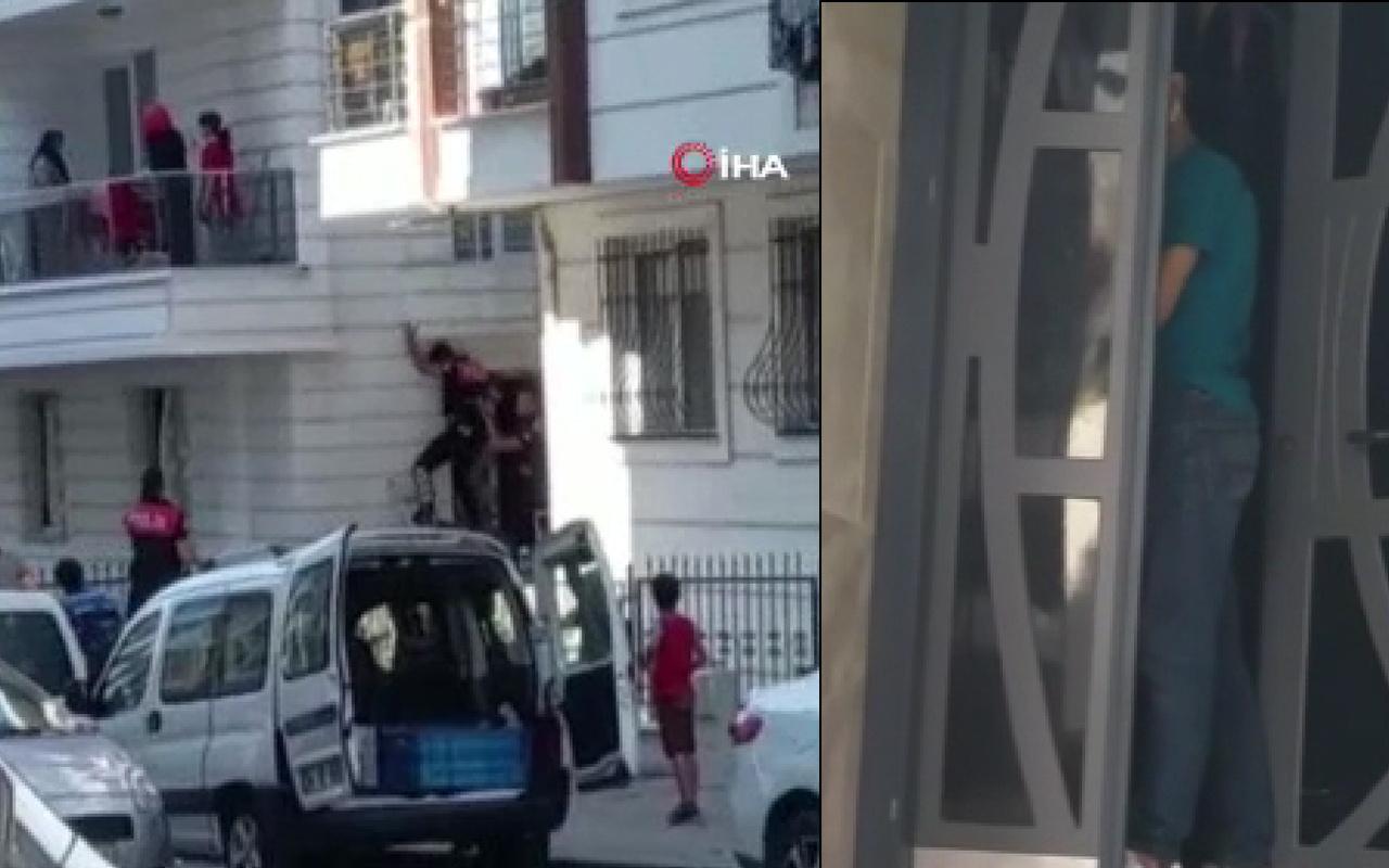 İstanbul'da 3 kadın hayatının şokunu yaşadı! Alkollü adam bir anda eve girip...