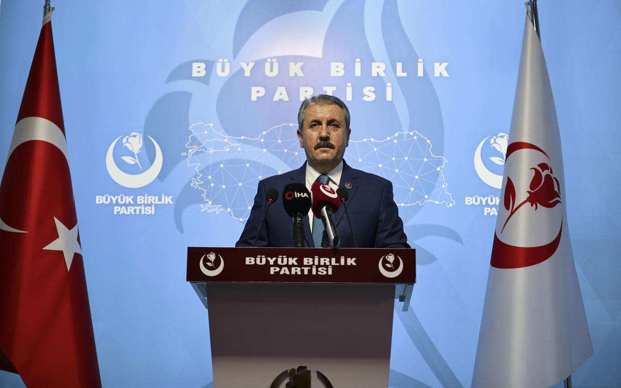BBP Lideri Mustafa Destici Elmalı olayıyla yeniden gündeme getirdi! İdam gelsin