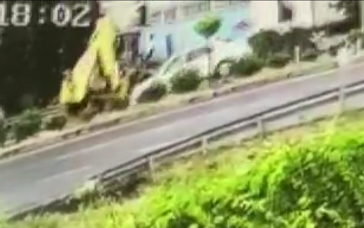 İzmir'de 1 kişinin öldüğü akılalmaz kazanın görüntüsü ortaya çıktı
