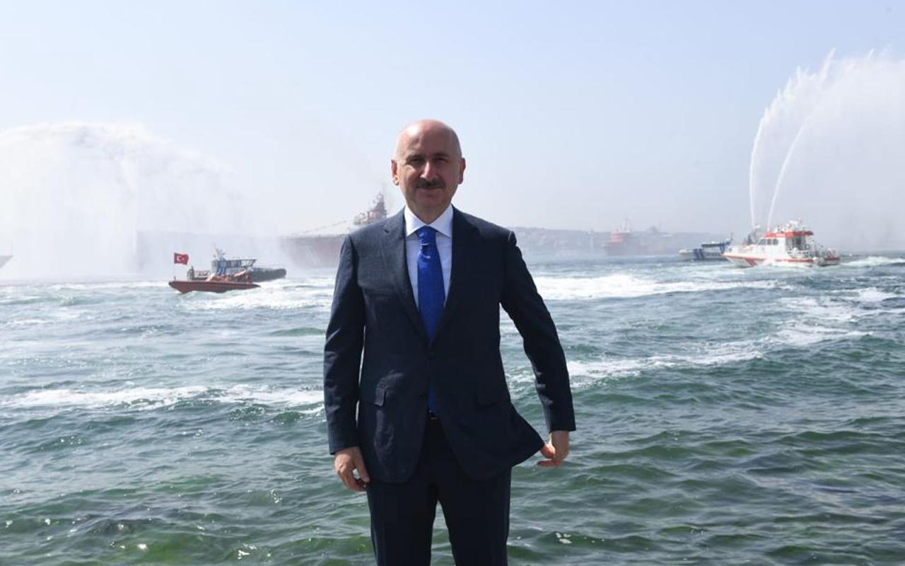 Ulaştırma ve Altyapı Bakanı Adil Karaismailoğlu Kabotaj Bayramı'nı kutladı