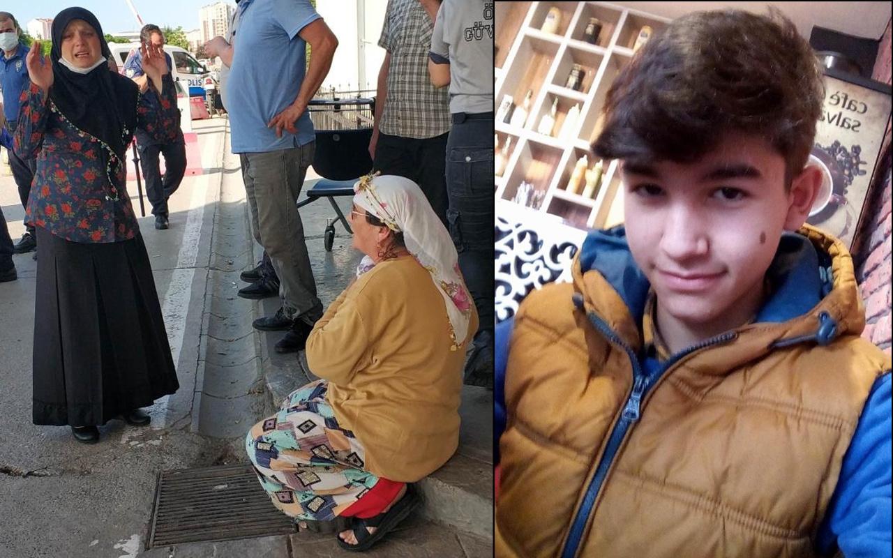 Samsun'da 15 yaşındaki çocuktan acı haber geldi! Gözyaşları sel oldu