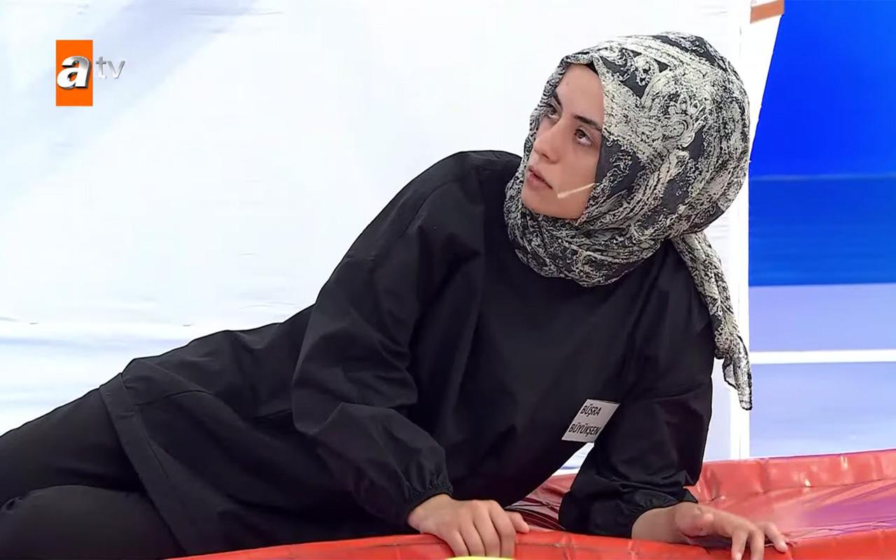 Müge Anlı ATV stüdyosunda Büşra Büyükşen'e canlandırma yaptırdı