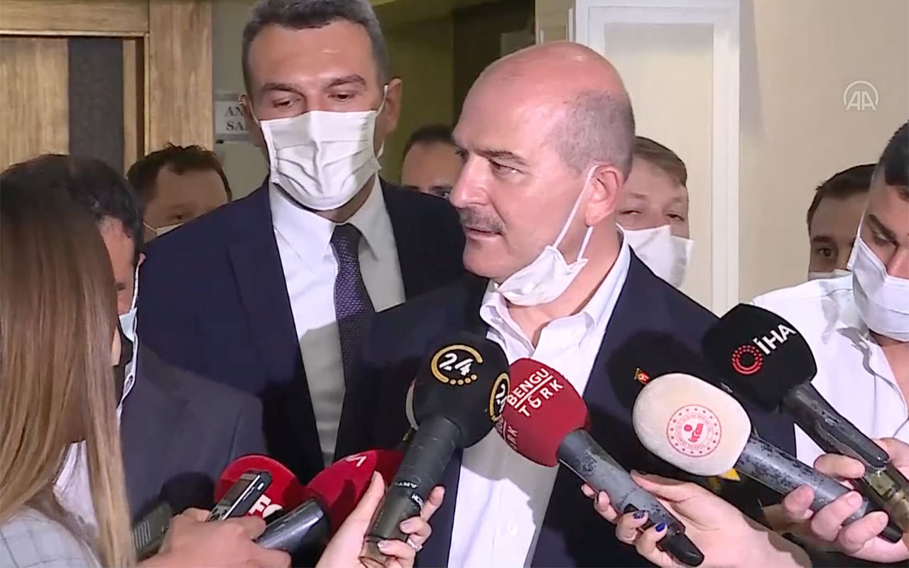İçişleri Bakanı Süleyman Soylu'dan Ekrem İmamoğlu'na cevap! 'Ben dünyanın en kötü adamıyım'