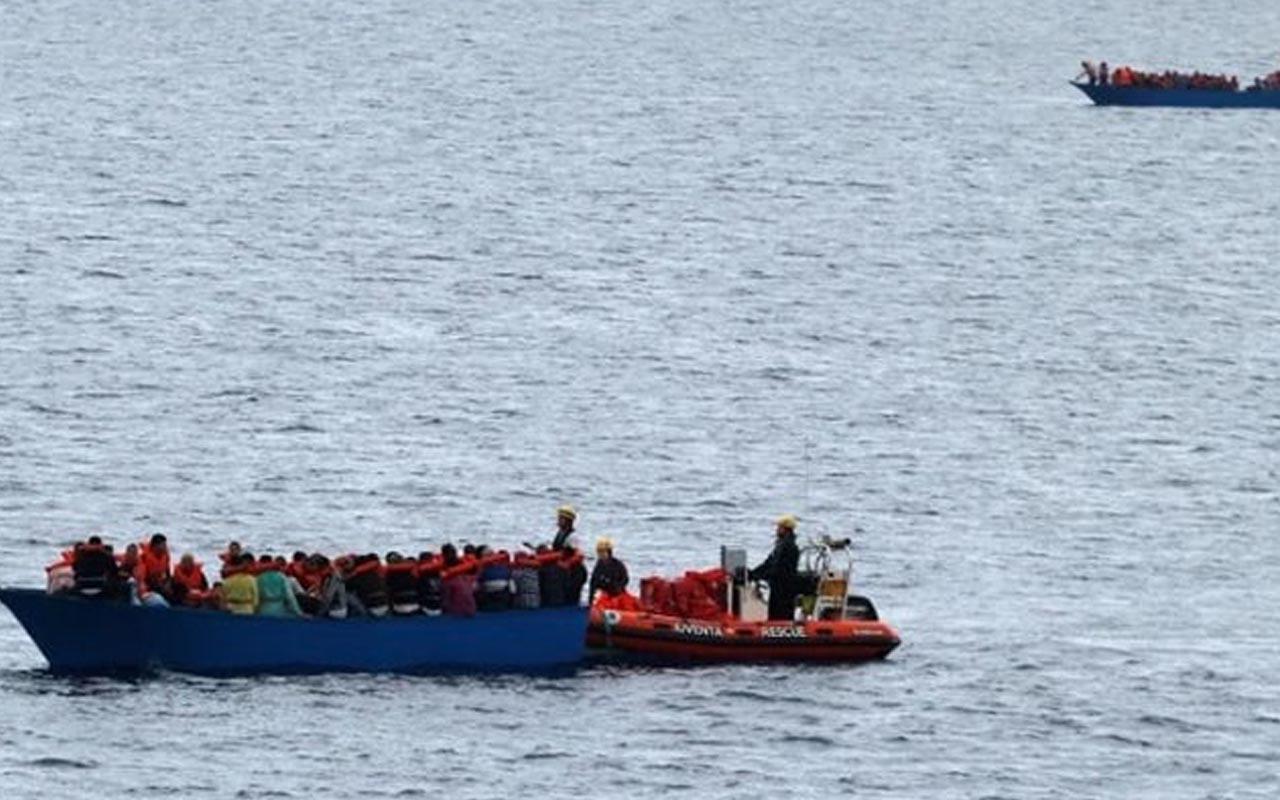 Akdeniz'de yine göçmen faciası! Bot battı onlarca ölü ve yaralı var