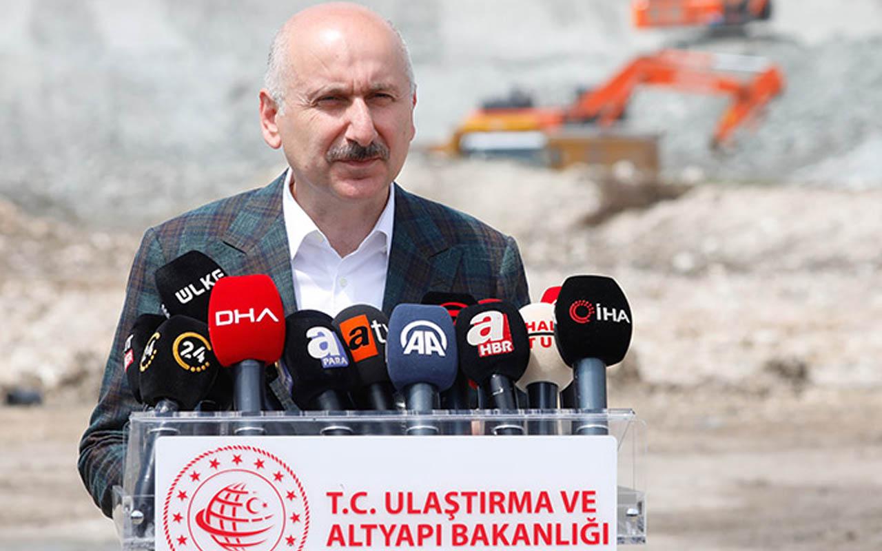 Ulaştırma Bakanı Adil Karaismailoğlu açıkladı: Kanal İstanbul ile birlikte yapılacak