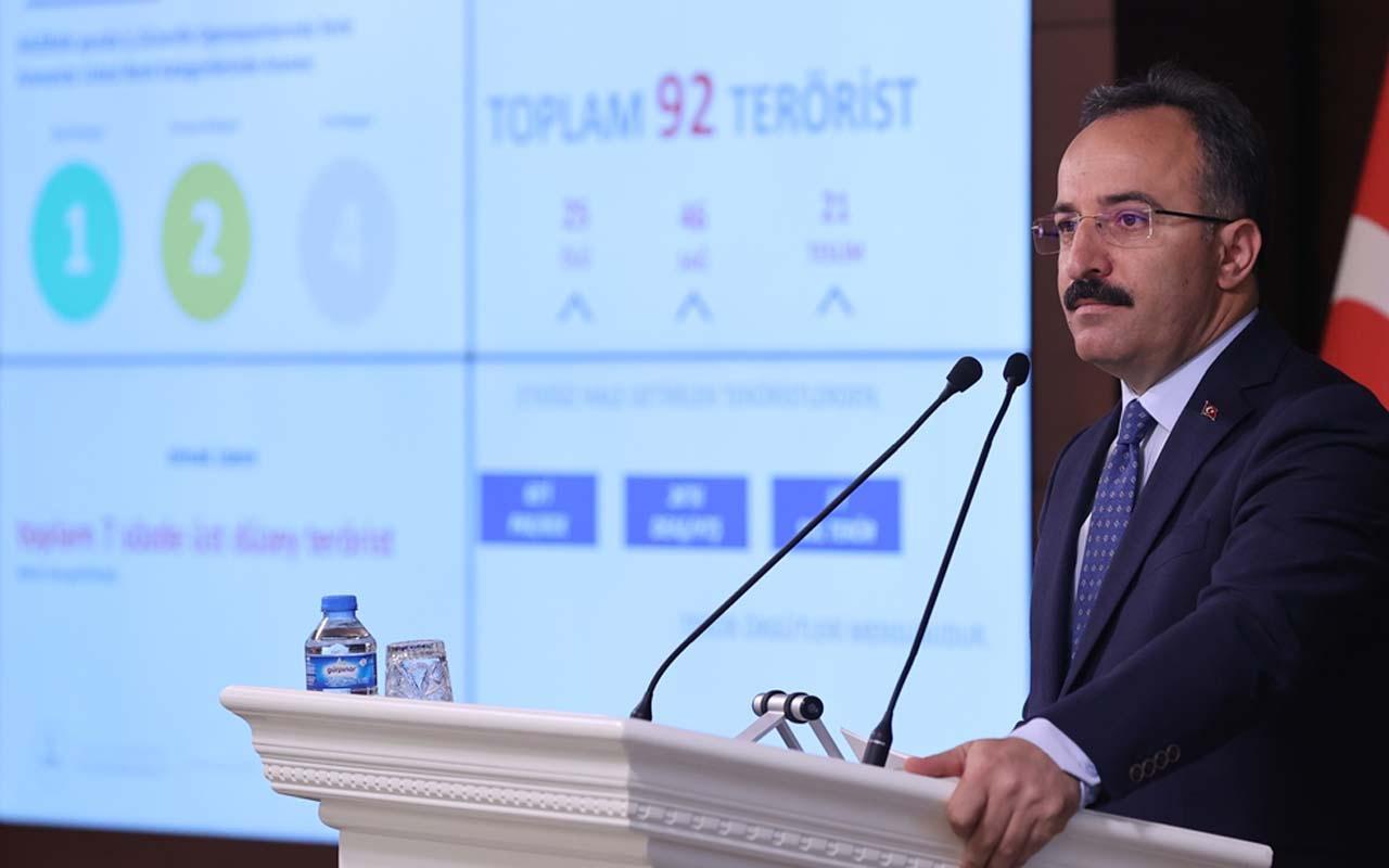 İçişleri Bakan Yardımcısı açıkladı: 7 üst düzey 92 terörist etkisiz hale getirildi