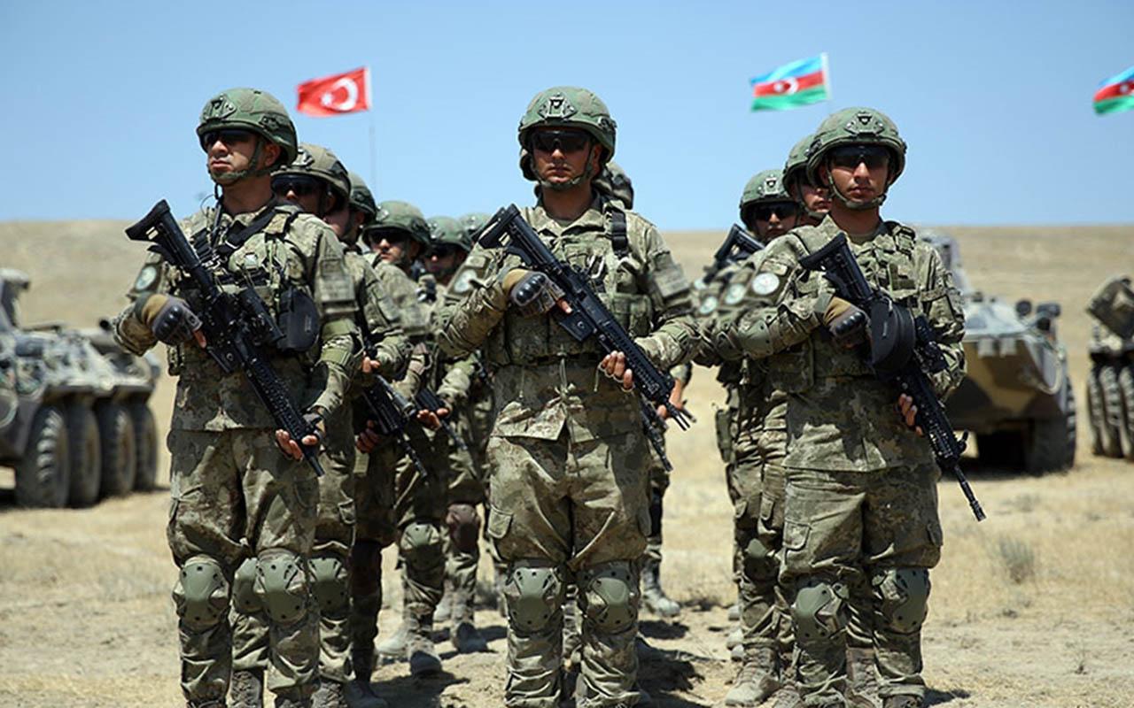 Türkiye ile Azerbaycan'dan gövde gösterisi! Dev tatbikatta görüntüler film sahnesini aratmadı