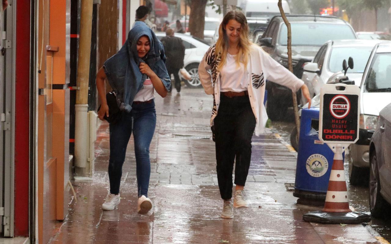 Meteoroloji uyardı sıcaklık 8 derece düşüyor yer yer kuvvetli yağış bekleniyor