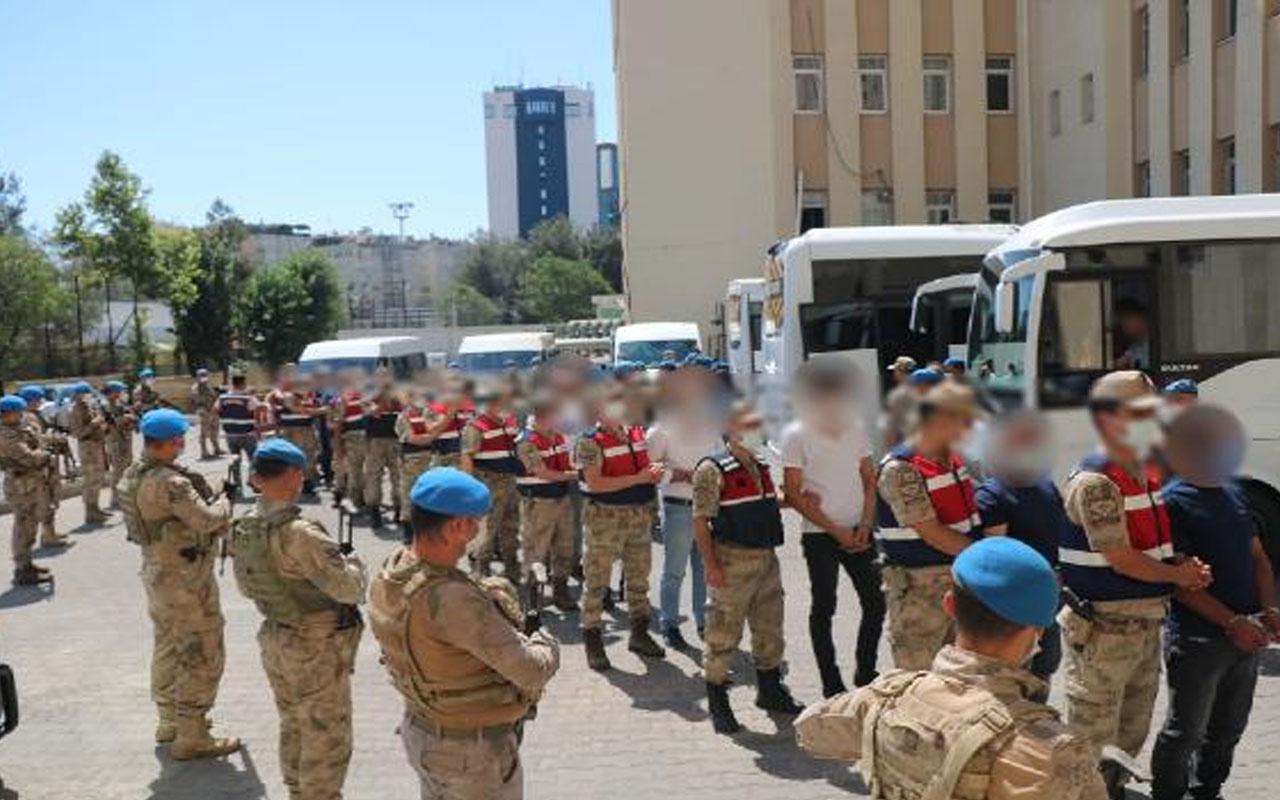 Diyarbakır'da narko-terör operasyonda ikinci dalga! 65 şüpheli tutuklandı