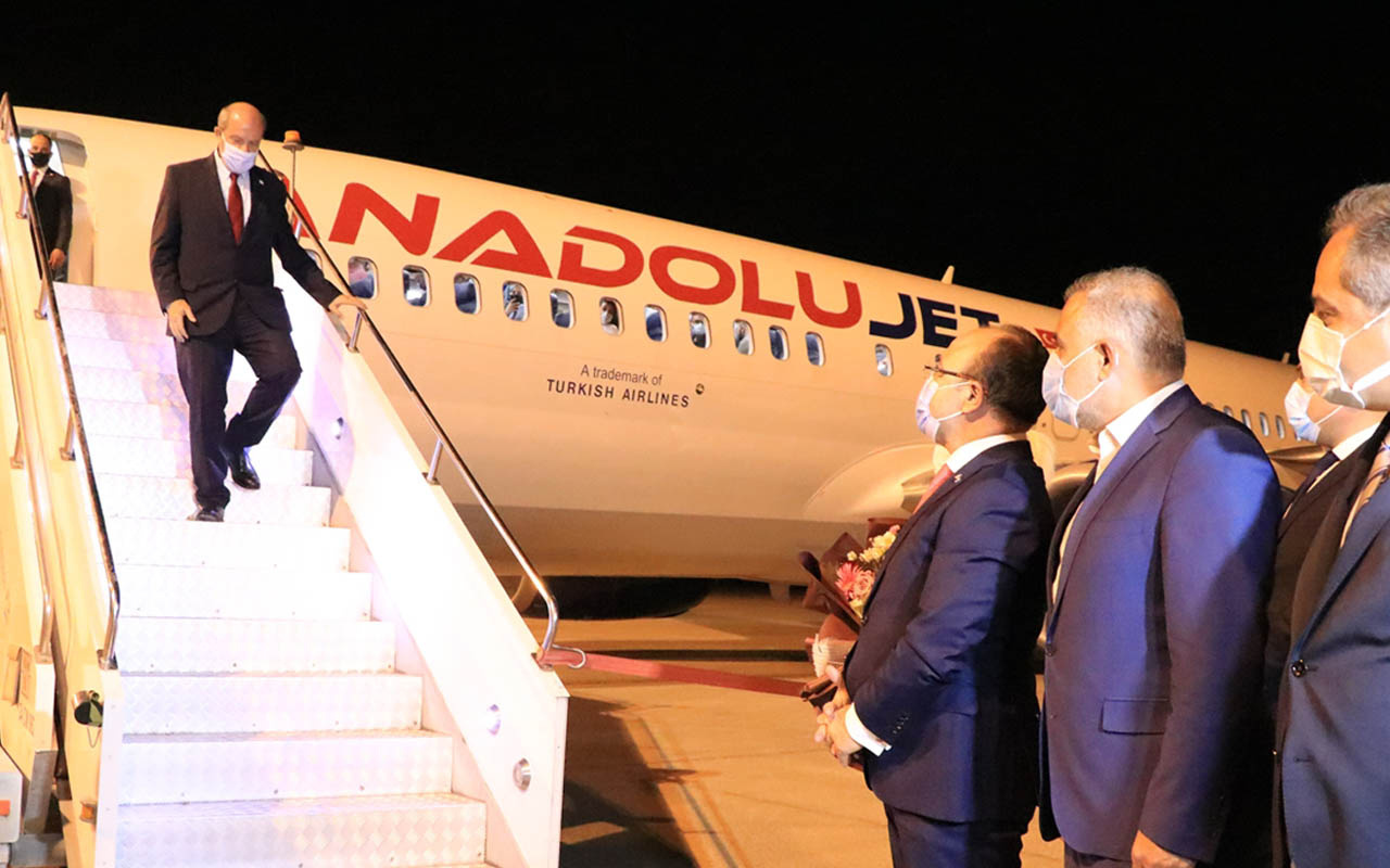 KKTC Cumhurbaşkanı Ersin Tatar Elazığ'a geldi