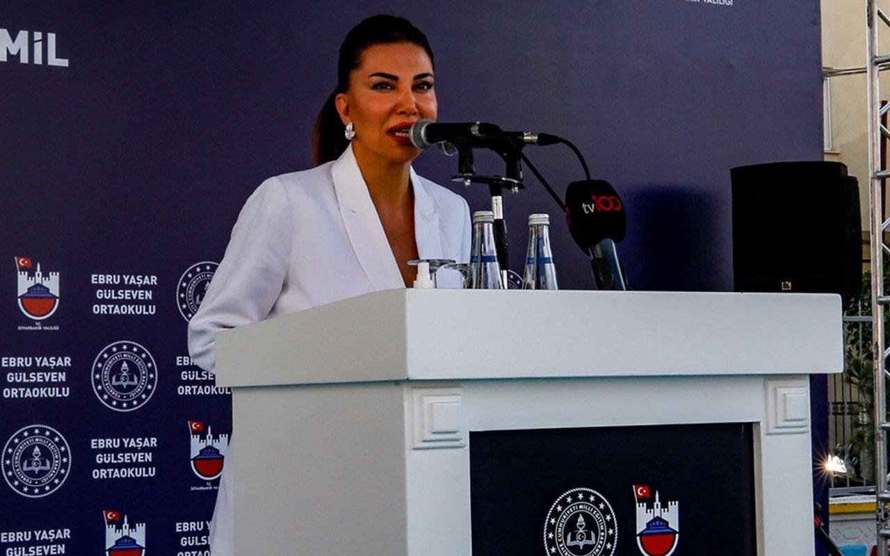 Ebru Yaşar Gülseven Ortaokulu coşkulu bir törenle açıldı