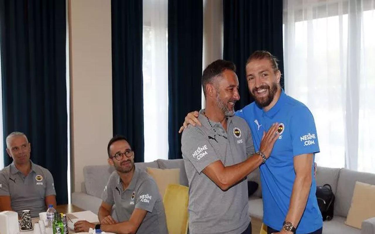 Fenerbahçe'den Vitor Pereira ve Caner Erkin paylaşımı