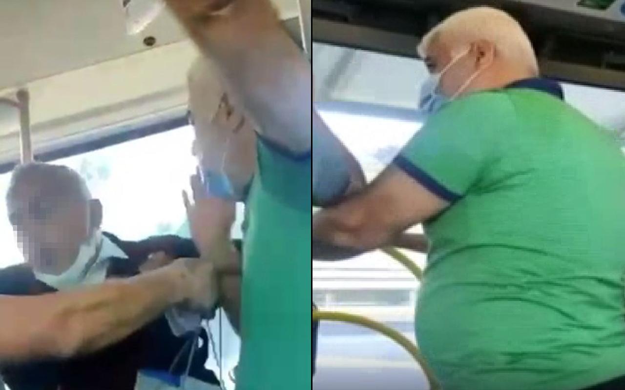 İstanbul'da metrobüste şaşırtan maske tartışması! Pes edip inmek zorunda kaldı