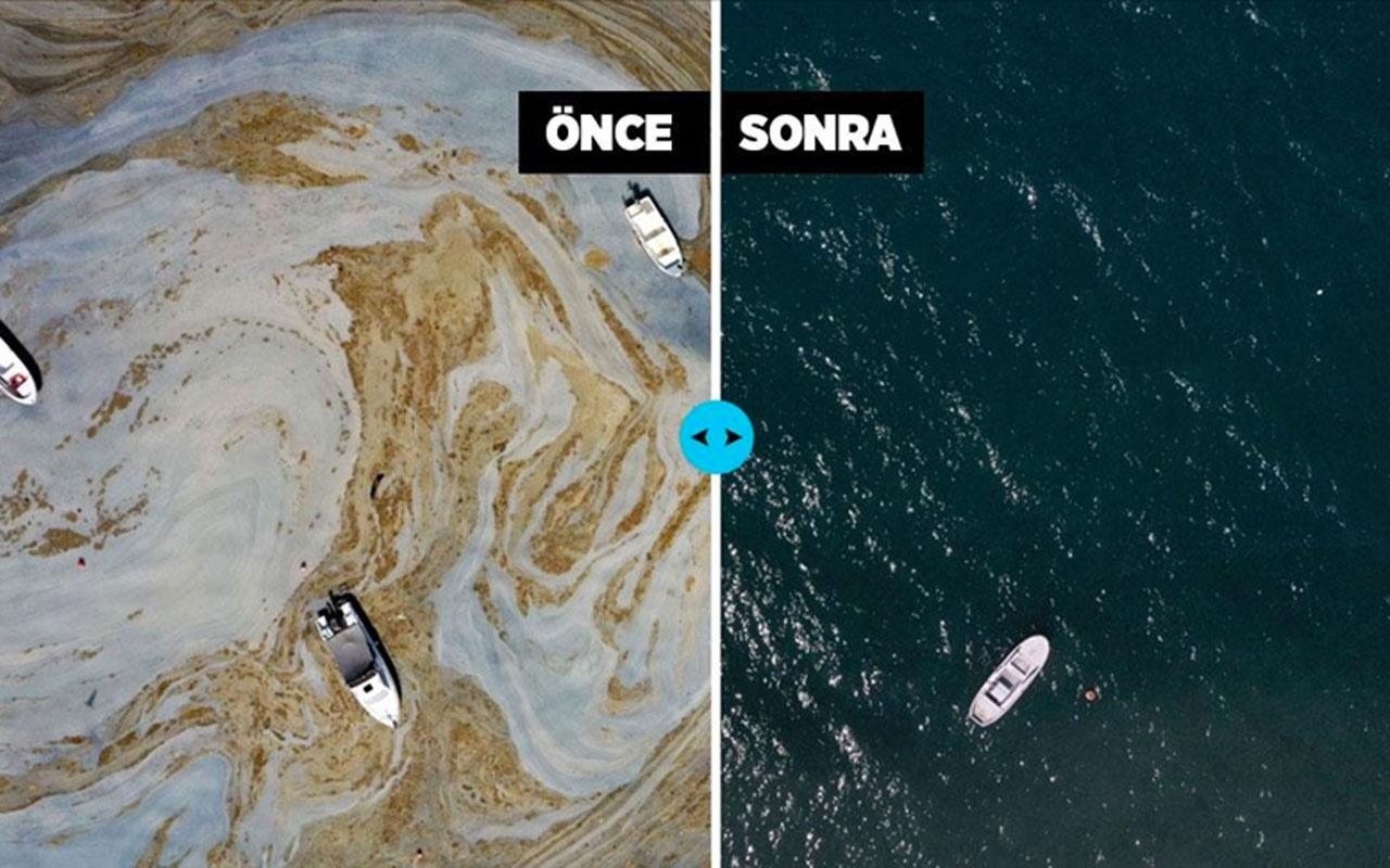 Marmara Denizi'nin güney sahillerinde müsilaj çalışmasıyla ilgili yeni gelişme