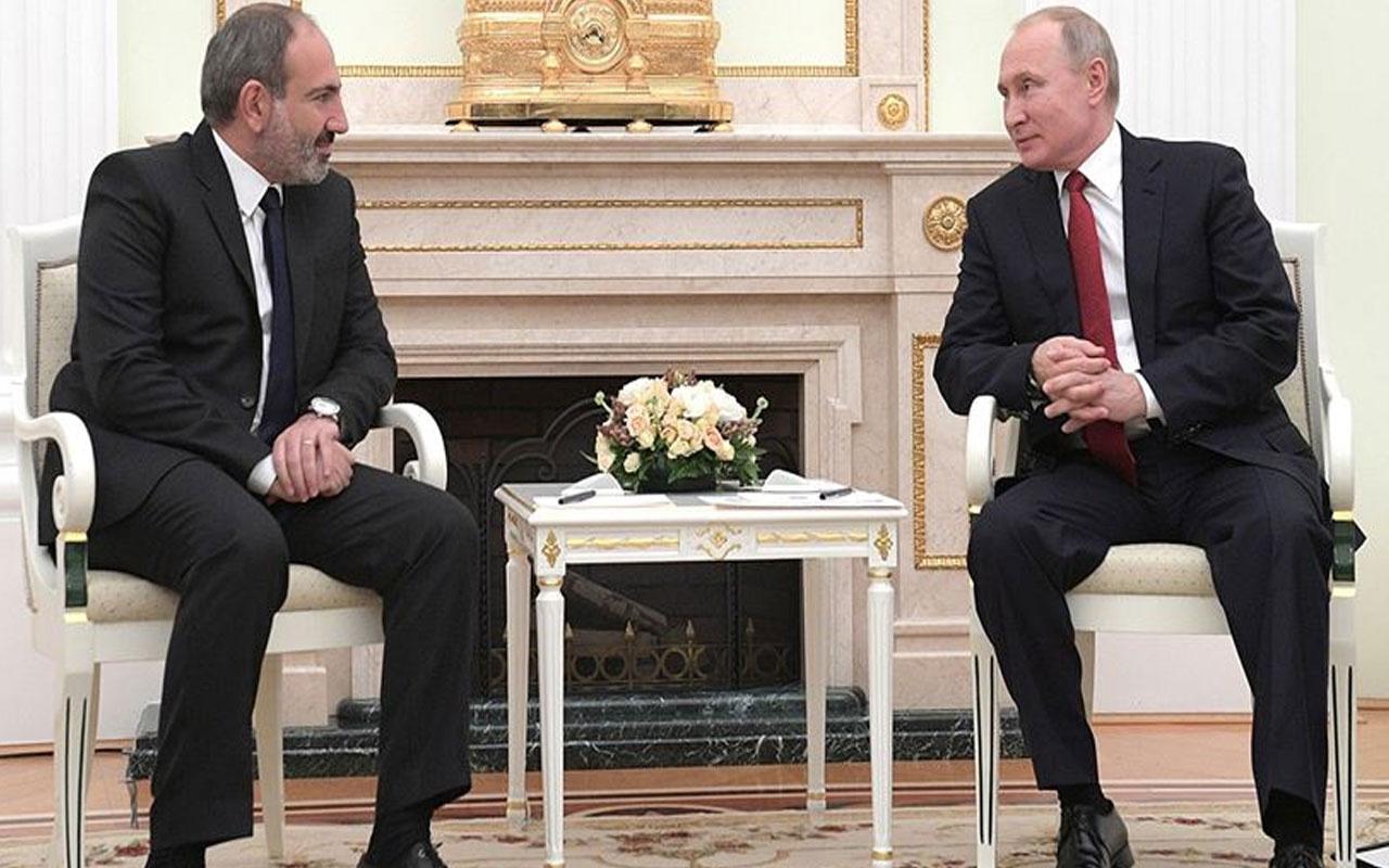 Vladimir Putin ile Nikol Paşinyan yarın Moskova'da görüşecek
