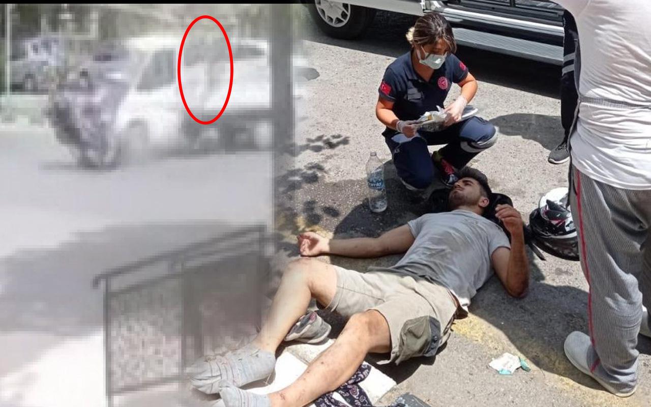 Manisa'da korkunç kaza! Metrelerce havaya savruldu aracın altına girdi