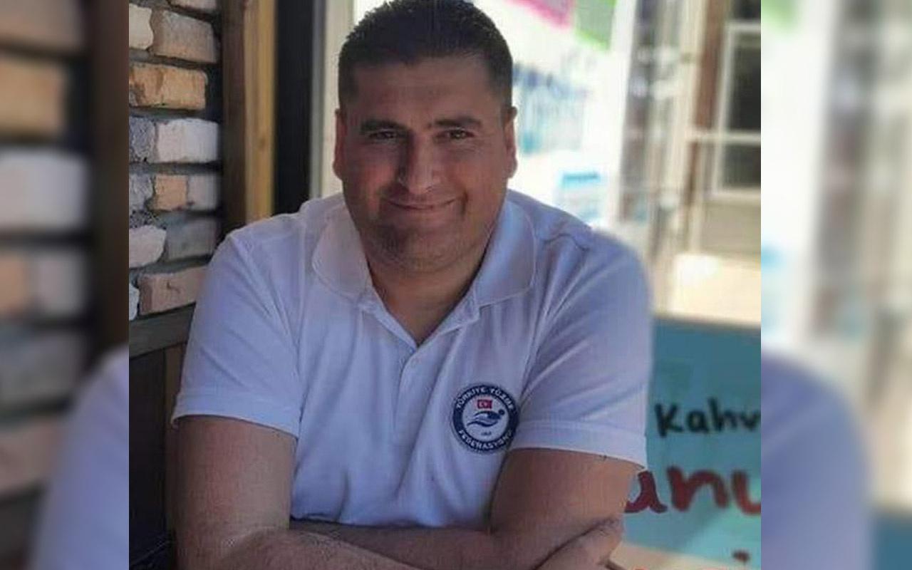 1 ay önce Covid-19'u atlatmıştı havalimanında kalp krizi geçiren yüzme hakemi öldü