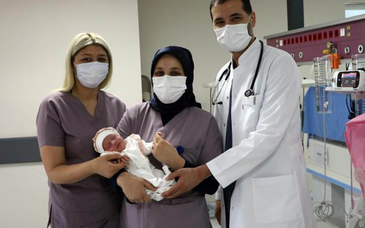 Gaziantep'te vicdansız anne bebeğini hastanede bırakıp kaçtı