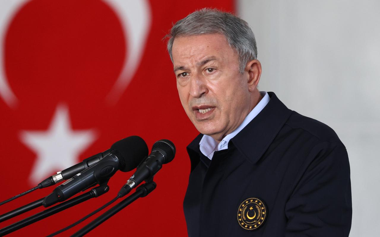 Milli Savunma Bakanı Akar'dan kritik görüşme