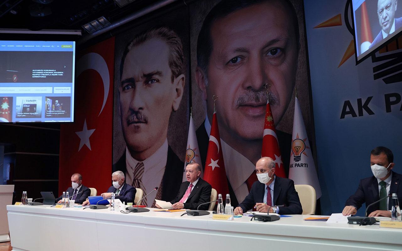 AK Parti MKYK toplandı! Cumhurbaşkanı Erdoğan başkanlık ediyor
