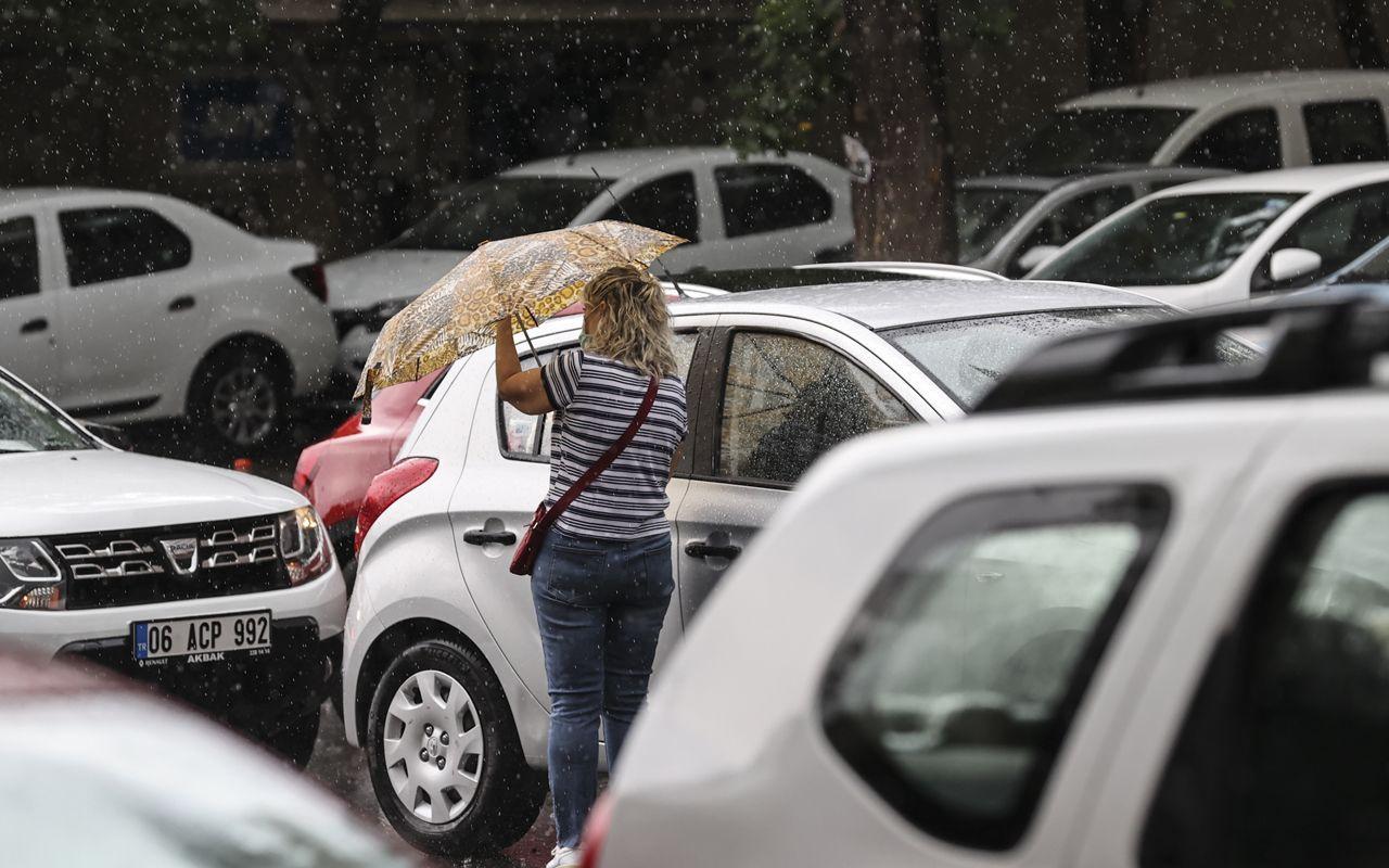 Kuvvetli sağanak geliyor! Meteoroloji'den sel uyarısı İstanbul ve Marmara geneli dikkat