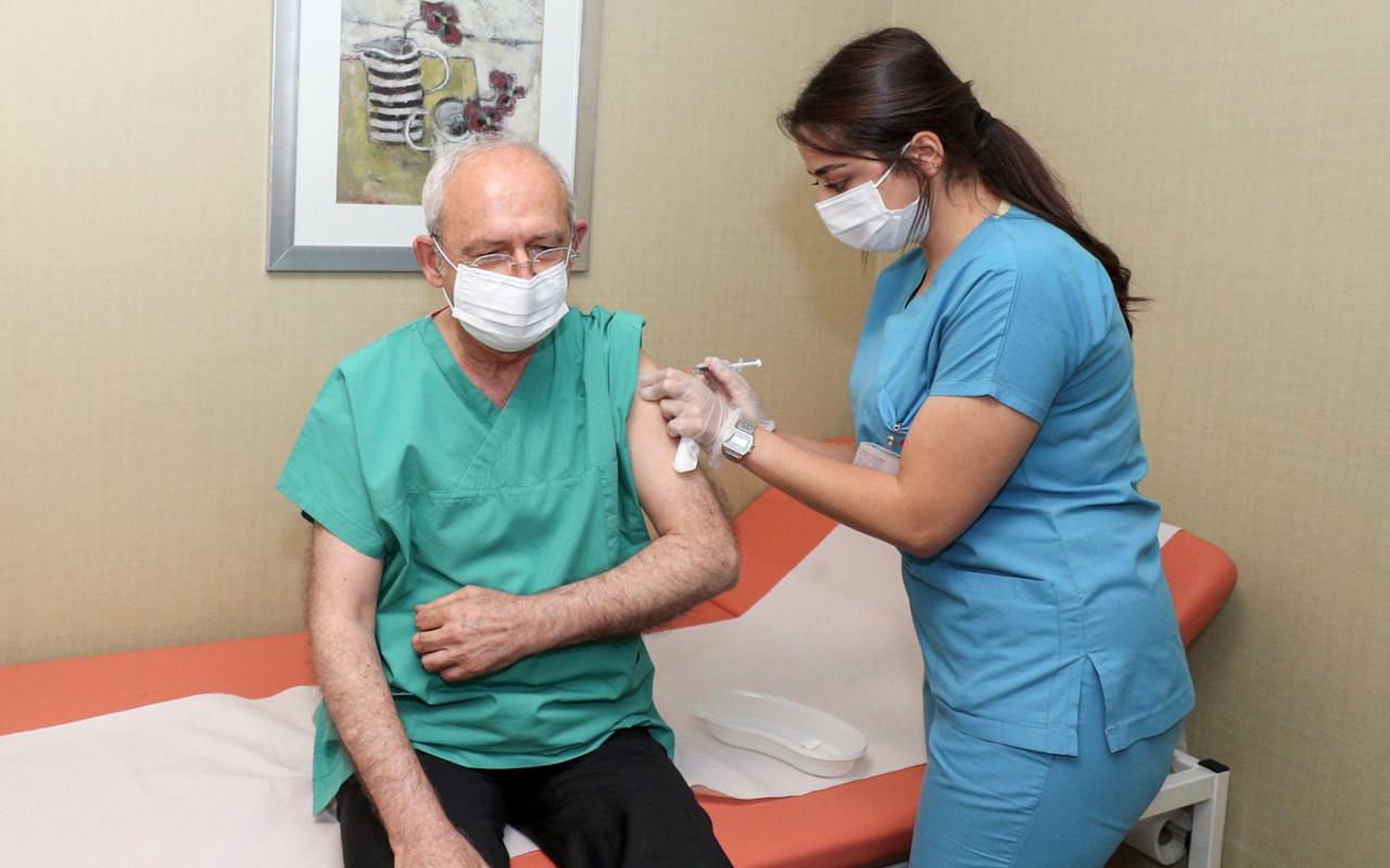 Kılıçdaroğlu üçüncü doz koronavirüs aşısını yaptırdı