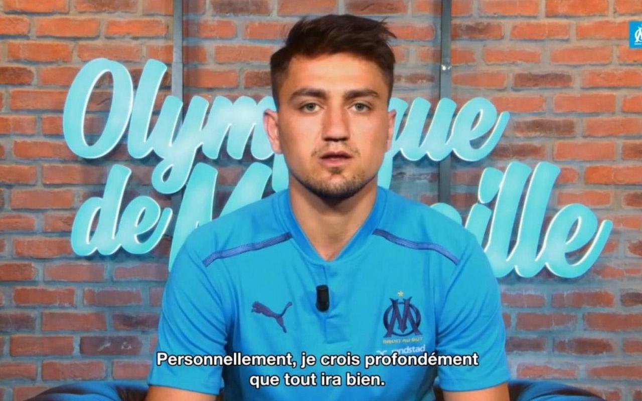 Cengiz Ünder Marsilya kulüp televizyonuna konuştu
