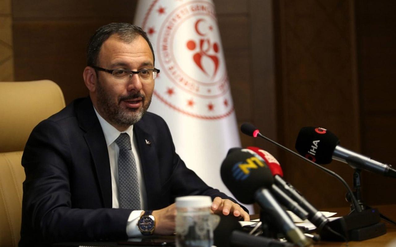 Bakan Kasapoğlu: Olimpiyatlarda Türkiye'yi 108 sporcu temsil edecek