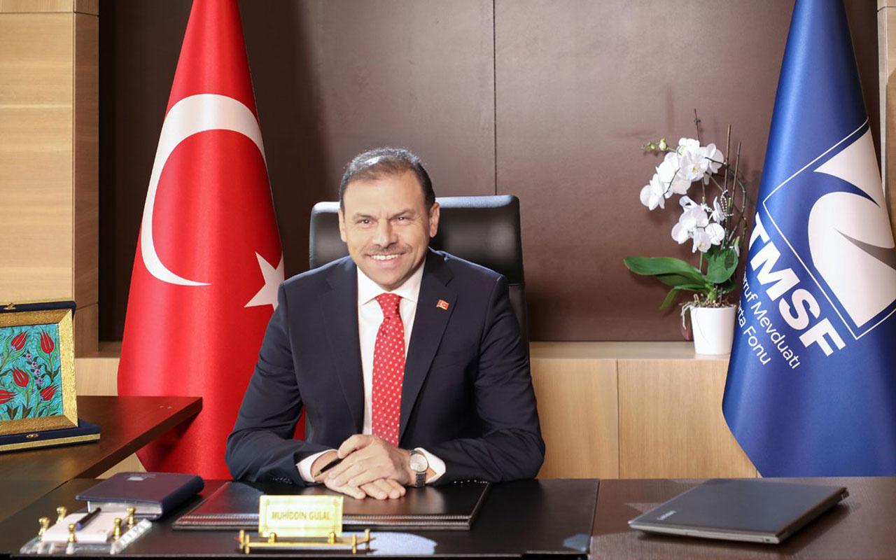 TMSF Başkanı Muhiddin Gülal görevden alındı! Yeni TMSF Başkanı Fatin Rüştü Karakaş oldu