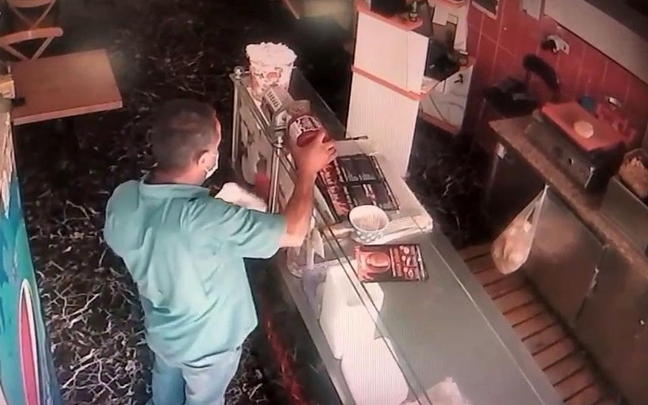 Gözüne kestirip zaman kolladı! İstanbul'da hırsızın rahatlığı pes dedirtti