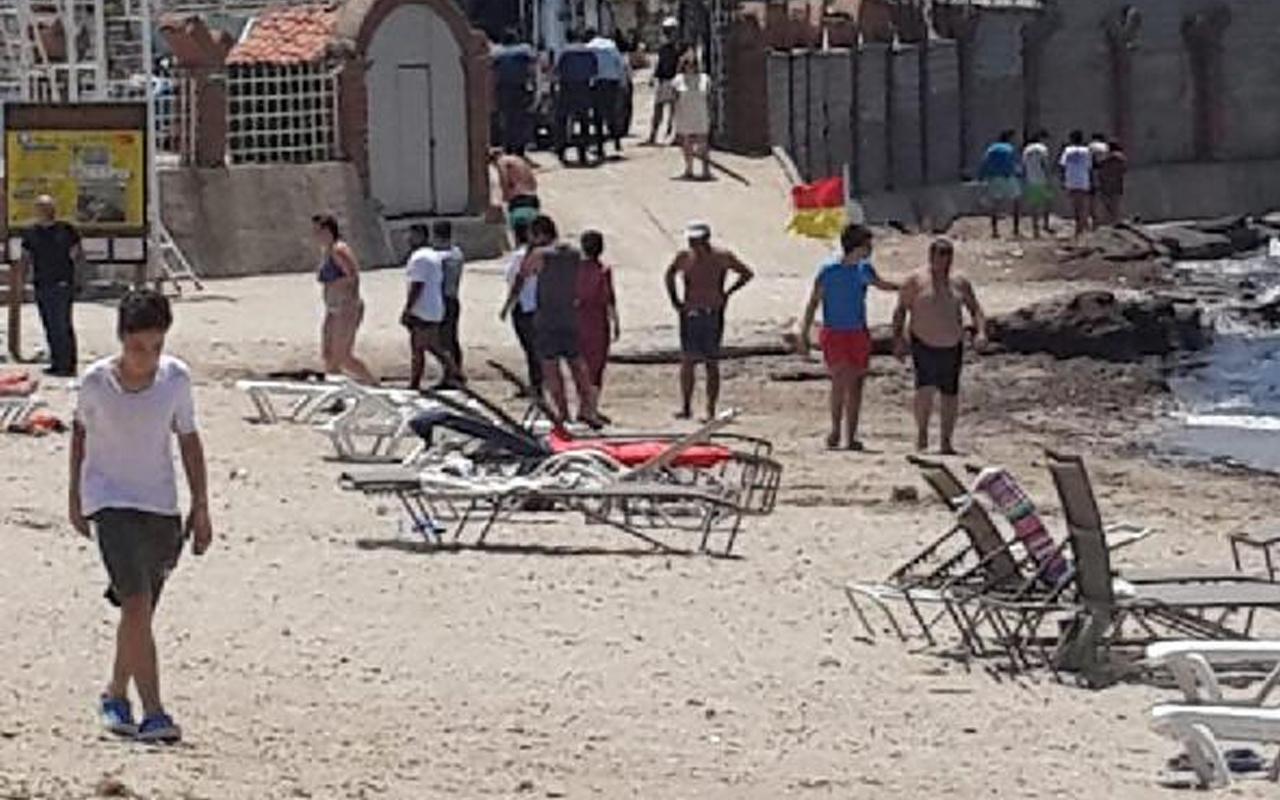 Aydın'da denizde görenler polisi aradı! Ekipler harekete geçti