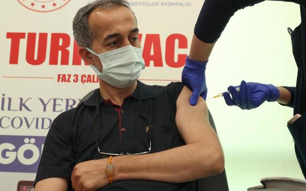 Turkovac'ın Faz 3 aşaması İstanbul'da gönüllülere uygulanmaya başlandı