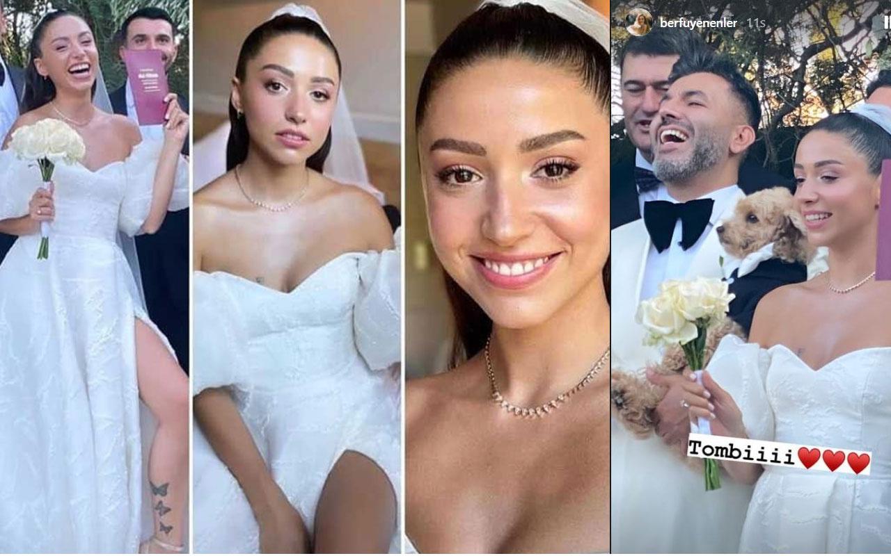 Zeynep Bastık evlendi kocası Tolga Akış kimdir? işte gelinliği düğün fotoğrafları