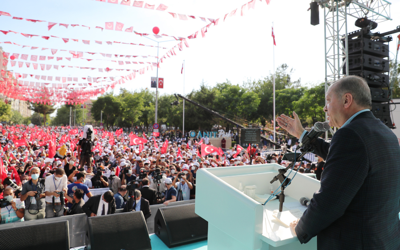 Cumhurbaşkanı Erdoğan'dan çözüm süreci açıklaması