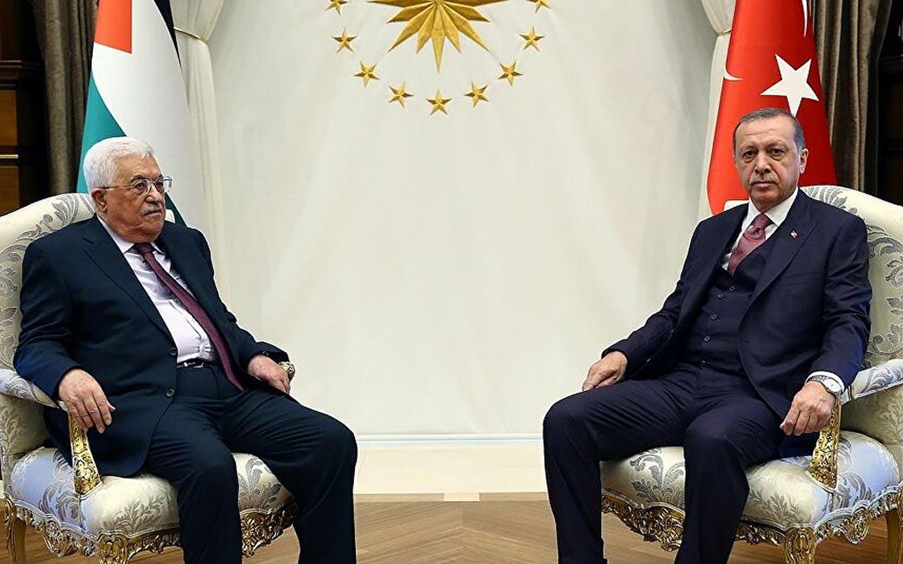Erdoğan davet etti Mahmud Abbas Türkiye'ye geliyor
