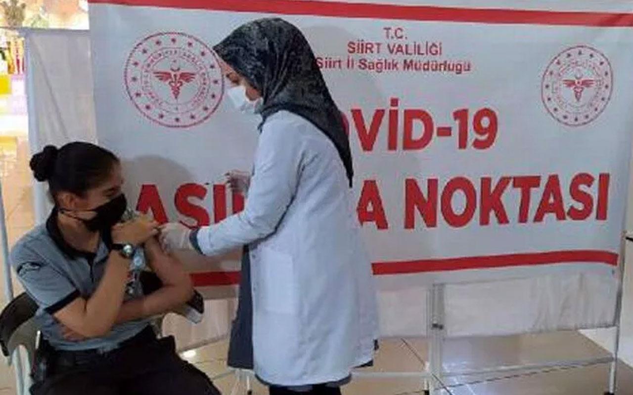 Siirt'te 'Aşı kısırlık yapıyor' iddiasına karşı ikna timleri devrede!
