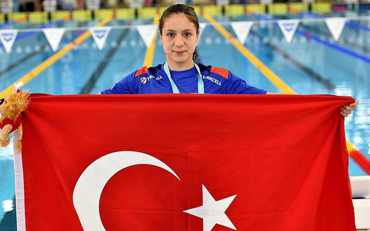 Merve Tuncel'den altın madalya! Avrupa rekoruna da adını yazdırdı
