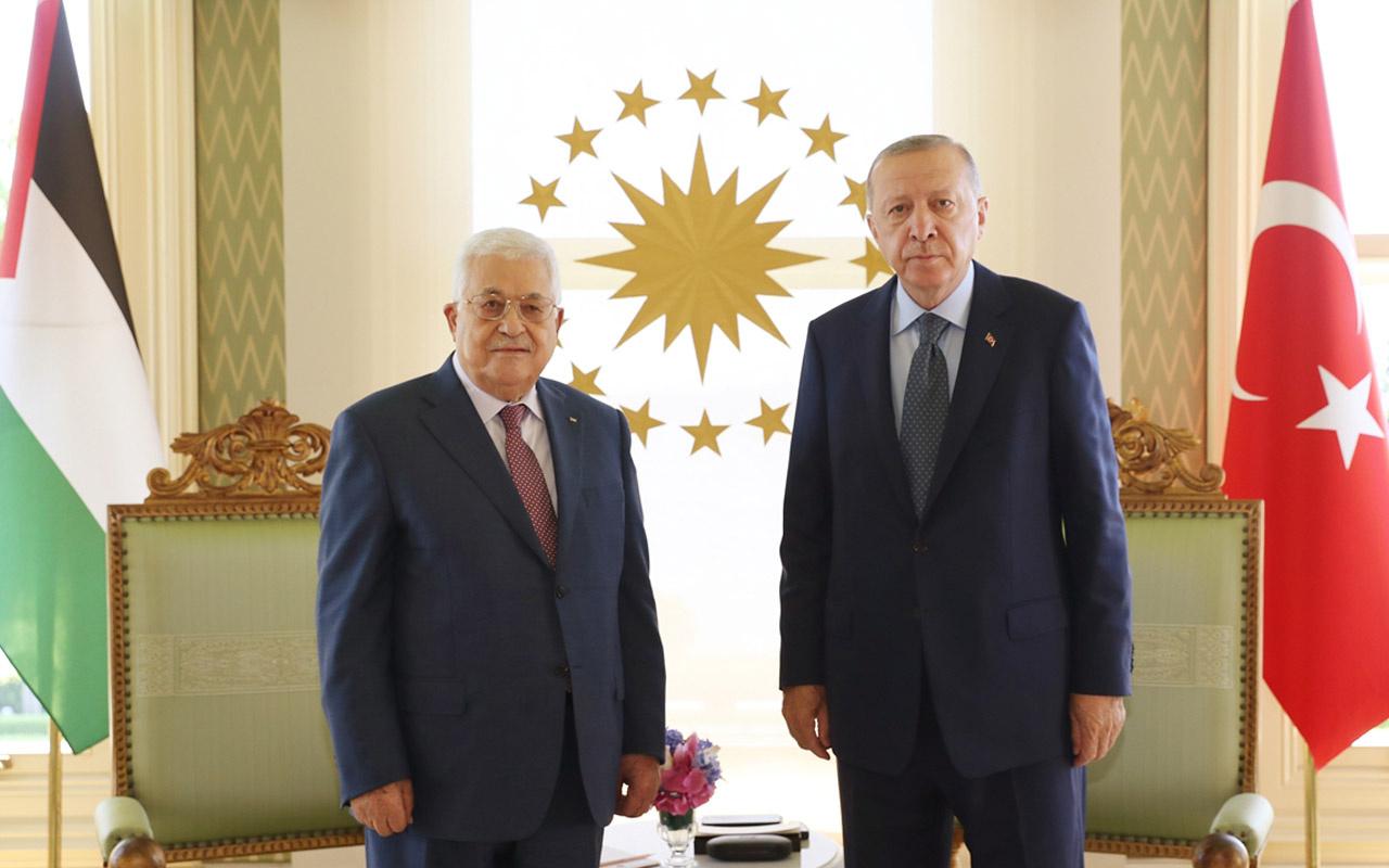 Cumhurbaşkanı Erdoğan, Mahmud Abbas ile görüştü 'İsrail'in zulmüne sessiz kalmayacağız'