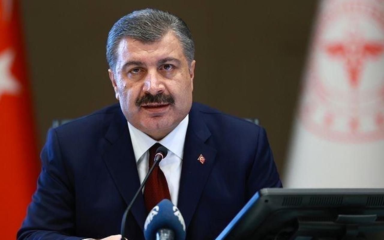 Sağlık Bakanı Fahrettin Koca aşılama haritasında mavi olan iki şehri tebrik etti