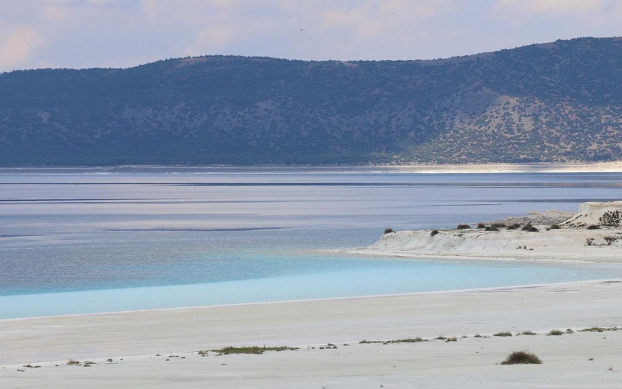Salda Gölü yeniden cennet güzelliğine kavuştu